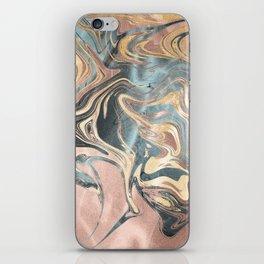 Liquid Gold iPhone Skin