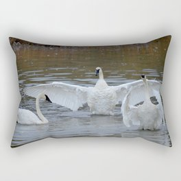 Swan Dance - Two out of Three Rectangular Pillow