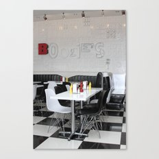 Boogie's Diner Canvas Print