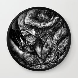 Winter Comes Wall Clock