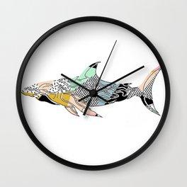 shark do do Wall Clock