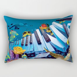 Island Ivories Rectangular Pillow