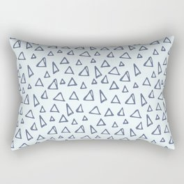 triange pattern (6) Rectangular Pillow
