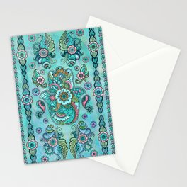 Hamsa Hand -Hand of Fatima Pastels and Gold Stationery Cards
