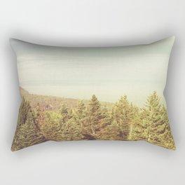 Forest Lookout Rectangular Pillow