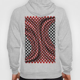 black white red 4 Hoody