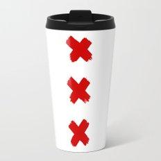 Amsterdam Crosses Travel Mug