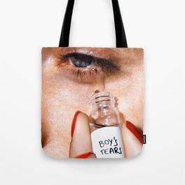 Boy's Tears Tote Bag