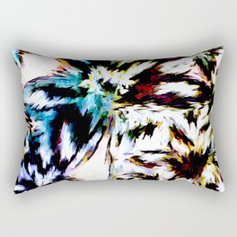 Palm Trees In Juno Rectangular Pillow