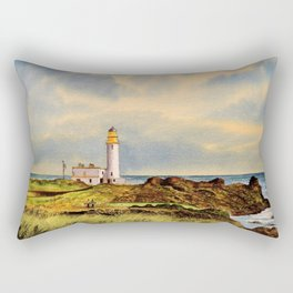 Turnberry Golf Course Scotland 9th Tee Rectangular Pillow