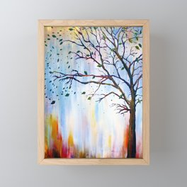 Winter Windstorm Framed Mini Art Print
