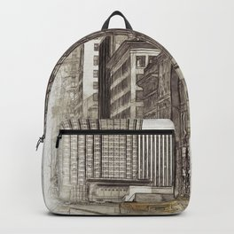 NYC Yellow Cabs NYPD - SKETCH Backpack