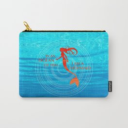 IN AN OCEAN ... Carry-All Pouch