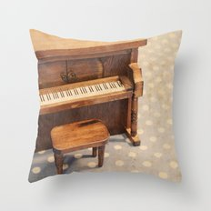 The Entertainer Throw Pillow