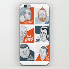 The Faces of New Fathers iPhone & iPod Skin
