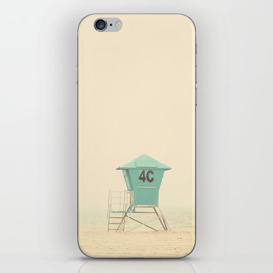 the sound of outer ocean on a beach ... iPhone & iPod Skin