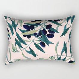 Olive Branch Pattern #society6 #decor #buyart Rectangular Pillow