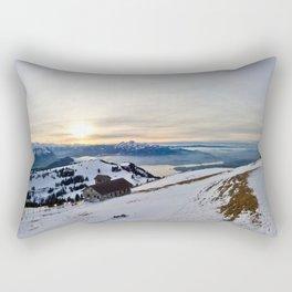 Mount Rigi Rectangular Pillow