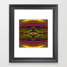 Internal Kaleidoscopic Daze-11 Framed Art Print