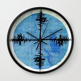 Blair 4-DMA Wall Clock