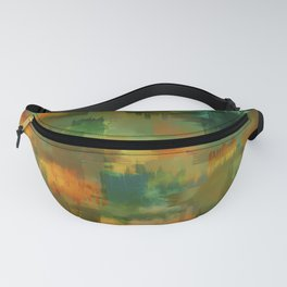 """Abstract forest in Autumn"" Fanny Pack"