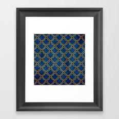 Quatrefoil Framed Art Print