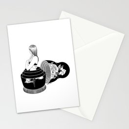 Nobody Knows The Real Me Stationery Cards