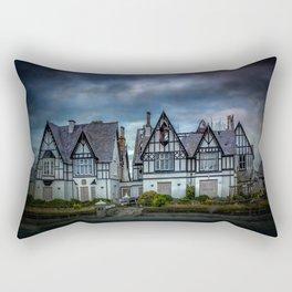 Tudor Gothic Decay Rectangular Pillow