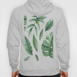 Leaves of the tropics Hoody