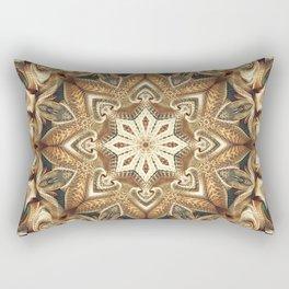 Flower Of Life Mandala (Mountain Range) Rectangular Pillow