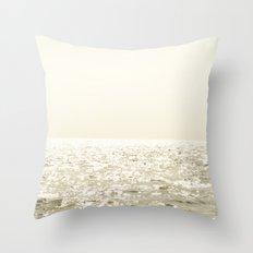 Sea and Sky Ombre Throw Pillow