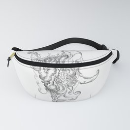 Abstract Santa Claus Fanny Pack