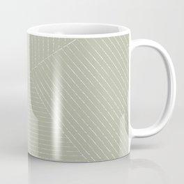 Lines (Linen Sage) Coffee Mug