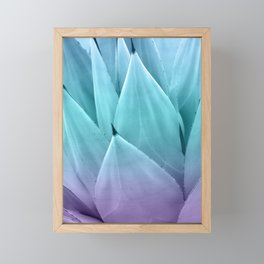 Agave Vibes #1 #tropical #decor #art #society6 Framed Mini Art Print