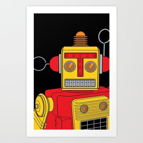 Shmobot Art Print