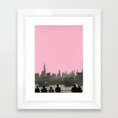 New York Nights Framed Art Print