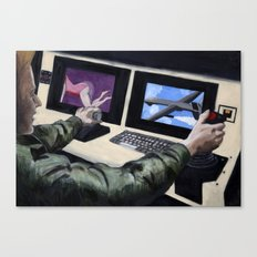 First Person Shooter Canvas Print