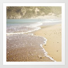 Summer is here Art Print