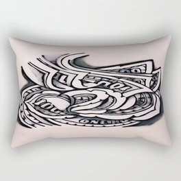 The Root Of All Evil  Rectangular Pillow