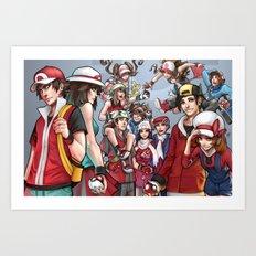 Generations Art Print