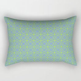 o x o - just circumferences - bg Rectangular Pillow