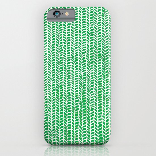 Stockinette Green iPhone & iPod Case