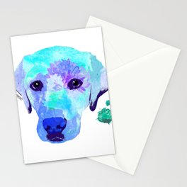 basil the lab Stationery Cards
