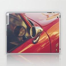 Fine art print, red supercar details, high quality photo, deep of field, macro, triumph spitfire Laptop & iPad Skin