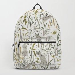Grey Cheetahs Backpack