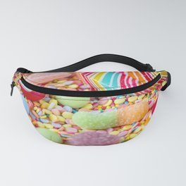 Rainbow Candy Fanny Pack