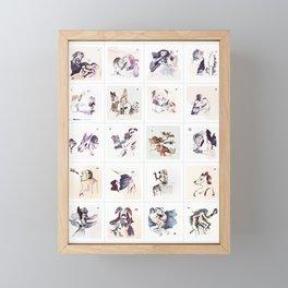 Collection 4x7 ~ Los Caprichos Framed Mini Art Print