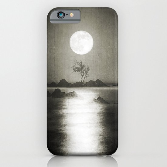 When the moon speaks (part III) iPhone & iPod Case