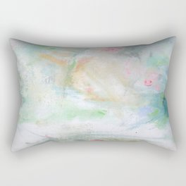 Tiny Roses Rectangular Pillow