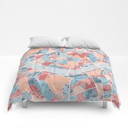 Seoul map Comforters